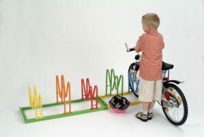 Kinder-Fahrradständer