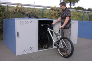 Fahrrad-Boxen