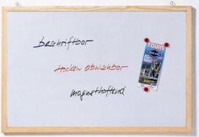 Schreib- und Magnettafeln mit Kiefer-Holzrahmen