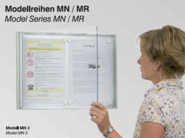Mini-Schaukästen Modellreihen MN / MR
