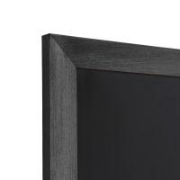 flacher Rahmen, schwarz