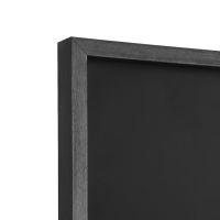tiefer Rahmen, schwarz