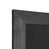 breiter Rahmen, schwarz