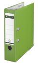1010 Ordner Plastik - A4, 80 mm, hellgrün, 1 St.