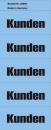 Inhaltsschilder Kunden - Beutel mit 100 Stück, blau,...
