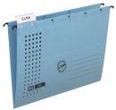 Hängemappe chic - Karton (RC), 230 g/qm, A4, blau, 1...