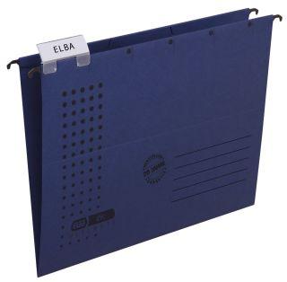 Hängemappe chic - Karton (RC), 230 g/qm, A4, dunkelblau, 1 St.