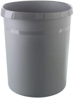 Papierkorb GRIP KARMA - 18 Liter, rund, 100% Recyclingmaterial, öko-dunkelgrau, 1 St.