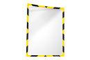 Infotaschen, magnetisch für Warnhinweise, gelb/schwarz