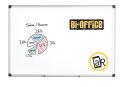 Bi-Office Magnetische Maya Whiteboard mit Aluminiumrahmen...