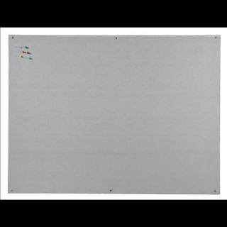Aluminium Rahmen Grau Bi-Office Maya Filztafel 240x120cm