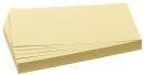 Moderationskarte, Rechteck, 205 x 95 mm, gelb, 500...