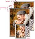 Klapprahmen OptiFrame, DIN A4 Gehrung, 25 mm