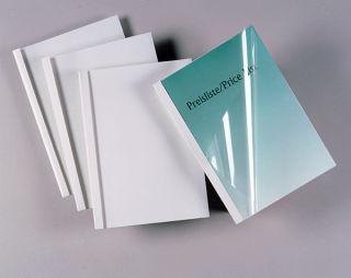 Thermobindemappen glatt weiß 18,0 mm Bindemappen