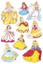3461 Sticker DECOR Prinzessin, 10 St.