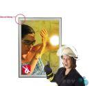 POV® Klapprahmen Fire Protection, DIN A1 Gehrung