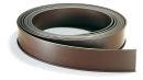 Magnetschild, 1000 x 40 mm, braun