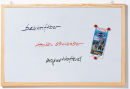 Magnetische Schreibtafel Memoboard, Wandbefestigung, 100...