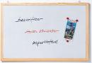 Magnetische Schreibtafel Memoboard, Wandbefestigung, 80 x...