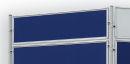 Textiltafel ECO, beidseitig verwendbar, 120 x 30 cm, blau
