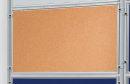 Korktafel ECO, beidseitig verwendbar, 120 x 60 cm, braun