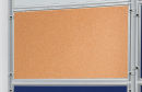 Korktafel ECO, beidseitig verwendbar, 120 x 90 cm, braun