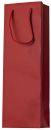 Flaschentragetasche Uni rot, 10 St.
