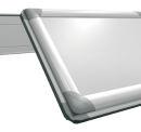 Korktafel PRO, 180 x 120 cm, braun