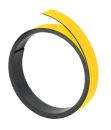 Magnetband, 100 cm x 15 mm, 1 mm, gelb
