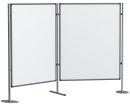 Magnetische Schreibtafel / Filztafel PRO, 120 x 90 cm.