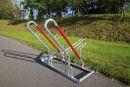 Fahrrad-Anlehnparker 2502 XBF, 2 Einstellplätze,...