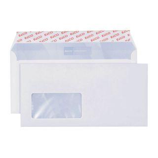 500 ELCO Briefumschläge Premium DIN lang+ mit Fenster