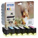 EPSON 378XL/T37984 schwarz, cyan, magenta, gelb Tintenpatronen