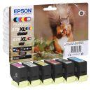 EPSON 378XL/478XL /T379D4 schwarz, cyan, magenta, gelb,...