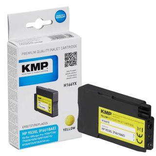 KMP H166YX gelb Tintenpatrone ersetzt HP 953XL