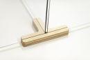 Holz-Fuß  für  Plexiglas-Trennscheibe, 3-Wege