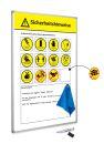 Sicherheitshinweise-tafel, softline 8mm (DE),...