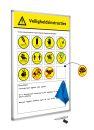 Sicherheitshinweise-tafel, softline 8mm (NL),...