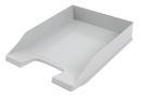 Kunststoff Briefablage, Grau, VPE = 10 Stück
