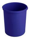 Kunststoff Papierkorb 30 Liter, Blau