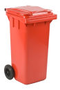 Mini Container 120 Liter, Rot