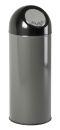 Abfallbehälter mit Druckdeckel 55 Liter, Metallic,...