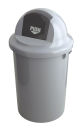 Abfallbehällter aus Kunststoff mit Klappdeckel, 60...