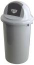 Abfallbehällter aus Kunststoff mit Klappdeckel, 47...