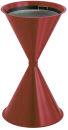 Sandaschenbecher Diabolo, Rot
