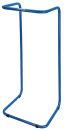 Beutelhälter Stahlramen, Blau