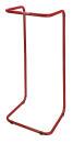 Beutelhälter Stahlramen, Rot