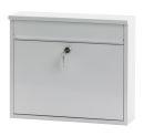 Wandbriefkasten, h 31,5 cm, Weiß