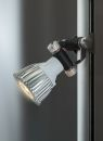 Standvitrine 111800, 800 x 400 x 1984 mm, LED-Beleuchtung