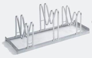 Multiparker 8053, Feuerverzinkter Stahl, 3 Einstellplätze